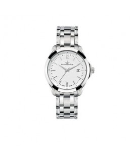 Lucien Rochat Montpellier 41mm 3h white dial ss br