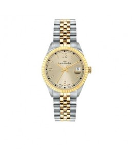 Lucien Rochat Reims lady 35mm 3h yg dial ss+yg br