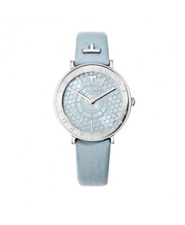 Trussardi T-vision 30mm 3h w/silver dial gray st