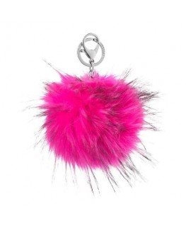 Morellato Portachiavi tendence fur ball with pink