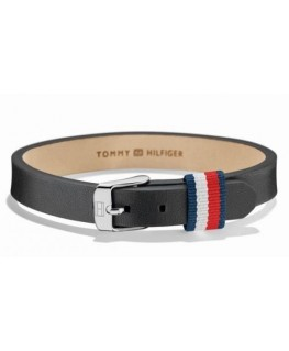 Tommy Hilfiger Mini belt br-ss-brwn blk lth- l.25 cm
