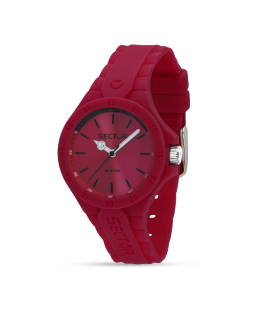 Sector Steeltouch 34mm 3h pink dial/sili st