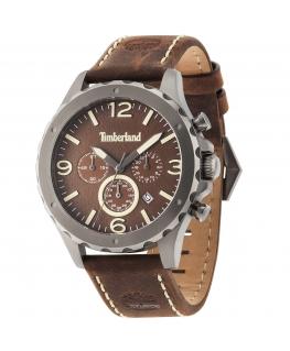 Timberland Warner chr brown dial brown str