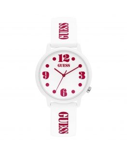 Orologio Guess Originals numbers bianco - 37 mm