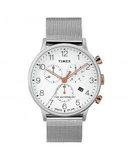 Orologio Timex Waterbury chrono nero - 42 mm