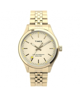 Orologio Timex Waterbury donna acciaio dorato - 34 mm