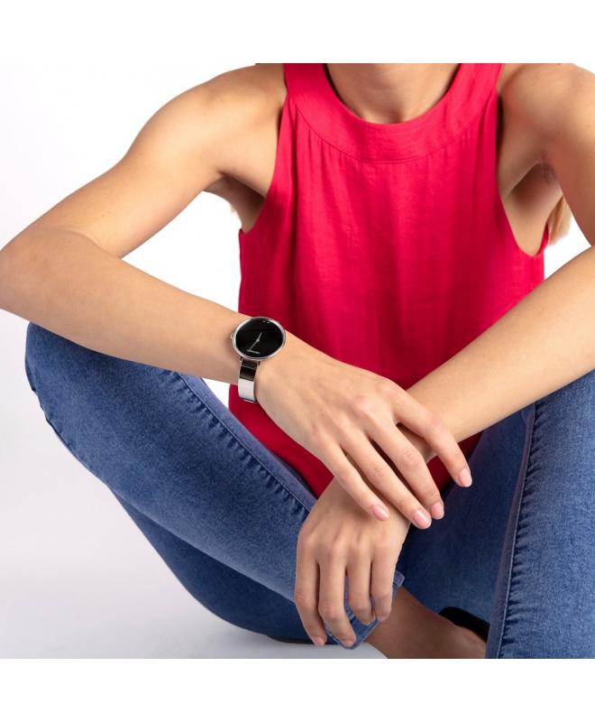 Orologio Calvin Klein Rise acciaio nero - 38 mm - galleria 2
