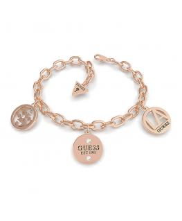 Bracciale Guess Trendy donna oro rosa - 14/18 cm