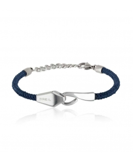 Bracciale Breil Hook Me Up blu  - 18/22 cm
