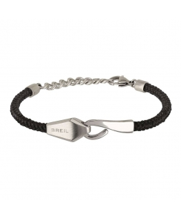 Bracciale Breil Hook Me Up nero - 18/22 cm