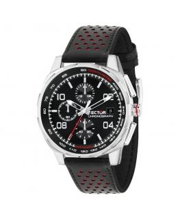 Sector 890 44mm chr black dial black strap uomo R3271803001