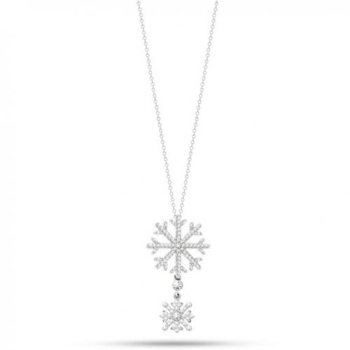 Morellato Pura pend. snowflake arg.925 donna SAHK05