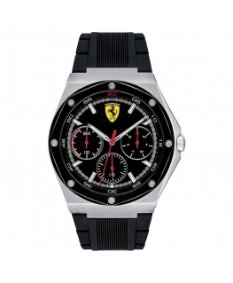Orologio Ferrari Aspire multi nero - 44 mm