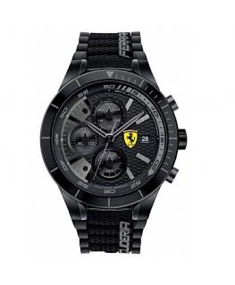 Orologio Ferrari RedRev crono nero / giallo - 44 mm