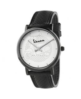 Orologio Vespa Classy pelle nero / bianco - 40 mm