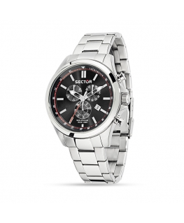 Sector 180 chr black dial bracelet uomo R3273690008