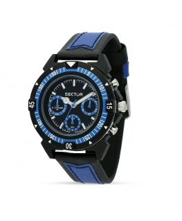 Orologio Sector Expander 90 multi nero / blu - 40 mm