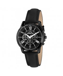 Chronostar Sporty 44mm multi black dial black st