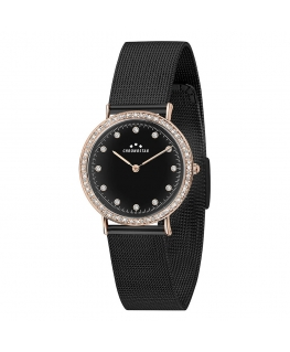Orologio Chronostar Preppy mesh nero - 32 mm