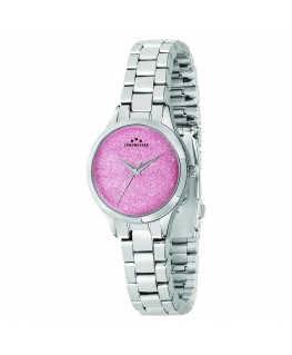 Chronostar Shimmer 32mm 3h rose dial br ss