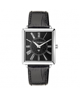 Trussardi T-princess 25mm 2h black dial black stra