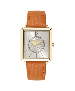 Trussardi T-princess 25mm 2h silver dial brown str