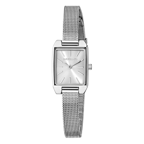 Morellato Sensazioni 17x26mm 2h silver dial mesh s donna