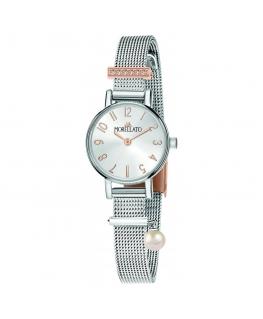 Orologio Morellato Sensazioni mesh silver / perla - 24 mm