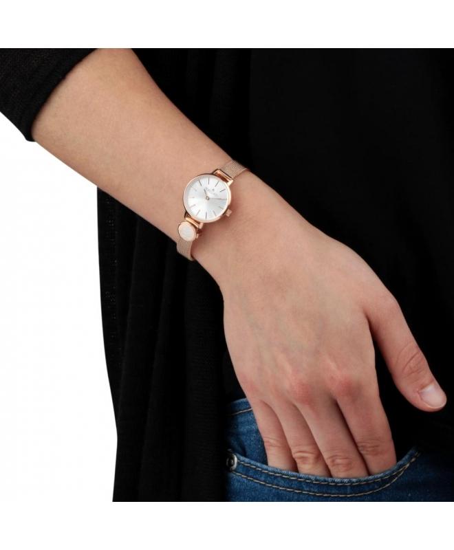 Morellato Sensazioni 2h 24mm white/s dial rg br donna - galleria 2