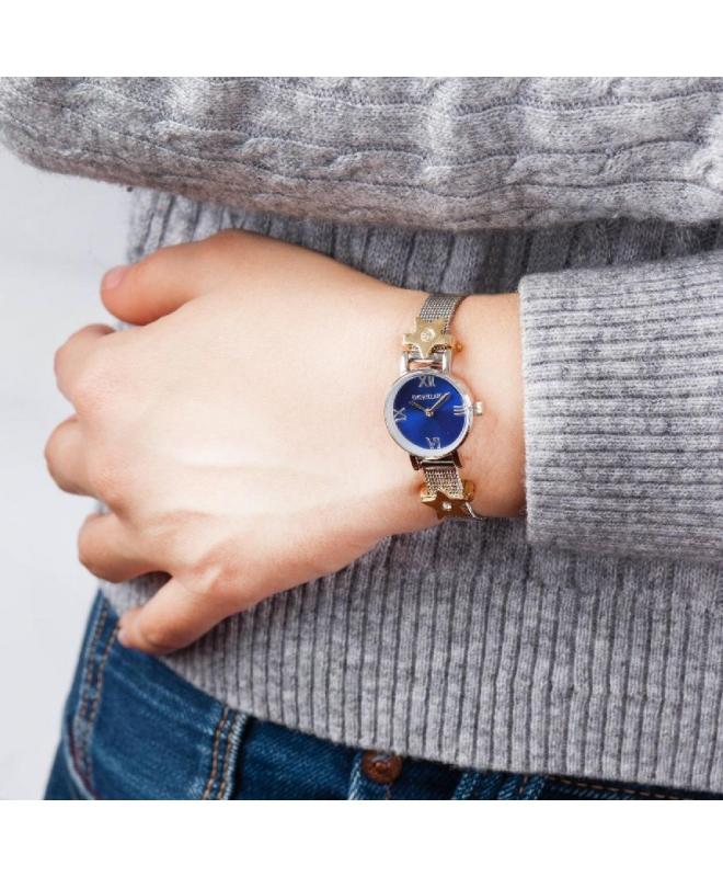 Morellato Tesori 20mm 2h blue dial br ss 2 bead donna - galleria 2