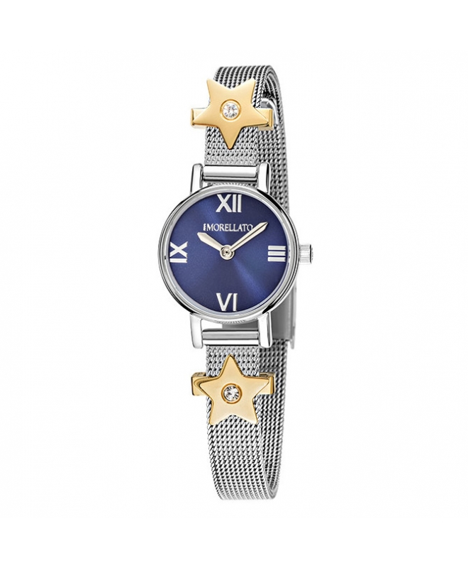 Morellato Tesori 20mm 2h blue dial br ss 2 bead donna - galleria 1