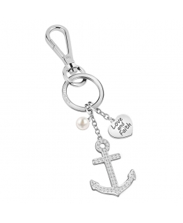 Portachiavi Morellato Anchor Love & Faith