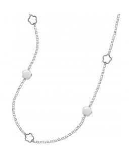 Collana Morellato Natura bianca Arg. 925 - 80 cm