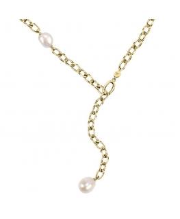 Collana Morellato Oriente dorata perla - 60/70 cm