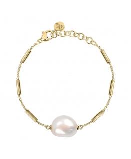 Bracciale Morellato Oriente dorato perla - 16/19 cm