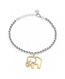 Bracciale Morellato Enjoy acciaio 'Elefante' - 16/19 cm