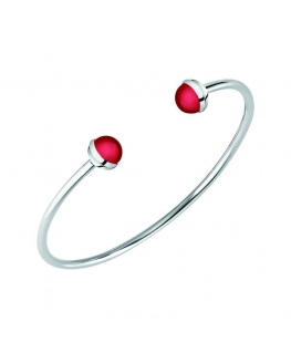 Bracciale Morellato Enjoy bangle rosso - Ø 60 mm