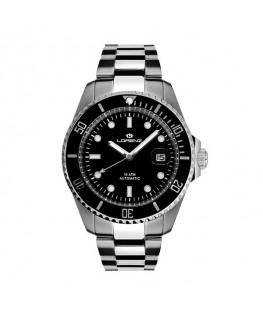 Orologio Lorenz uomo automatico Diver nero