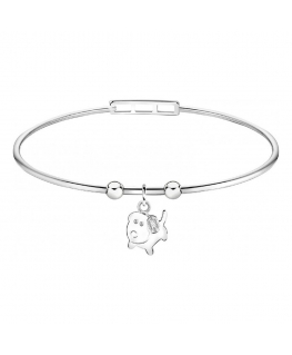 Bracciale Morellato Enjoy bangle 'Dog' - Ø 60 mm