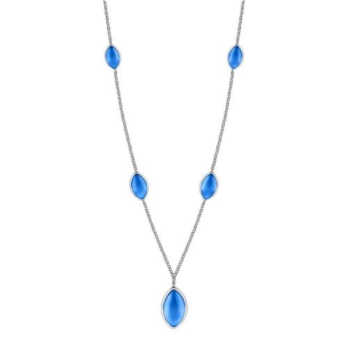 Morellato Profonda pend. long ss blue stone femminile SALZ19