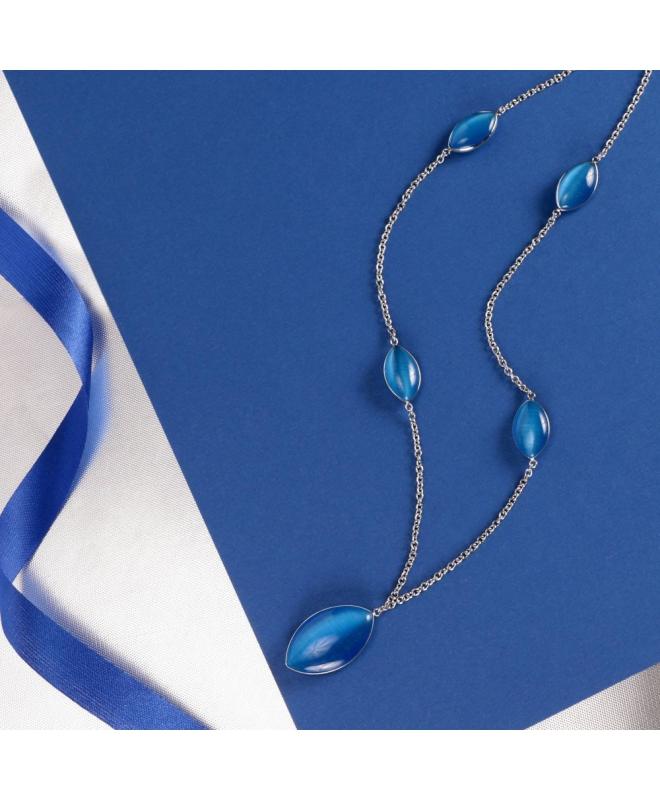 Morellato Profonda pend. long ss blue stone femminile SALZ19 - galleria 3