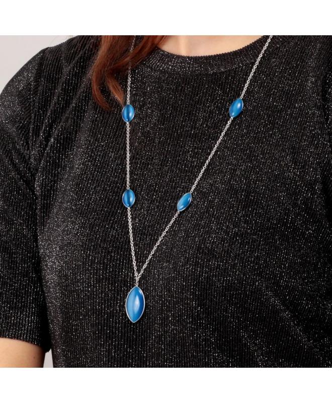 Morellato Profonda pend. long ss blue stone femminile SALZ19 - galleria 4