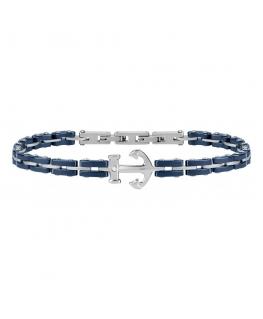 Bracciale Morellato Ceramic blu 'Ancora' - 23 cm