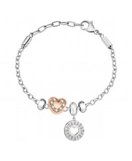 Morellato Drops br 1 rg +1 ss boy &girl heart bead femminile