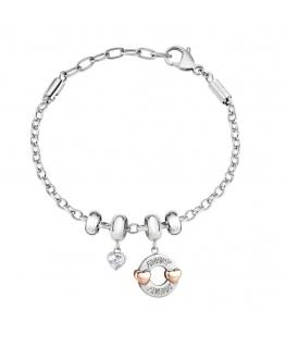Morellato Drops br ss heart bead+2 rg h-round bead femminile