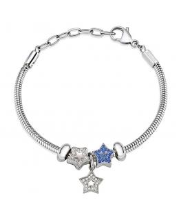Morellato Drops br. snake chain 3 beads donna SCZ937