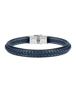 Sector Gioielli Bandy br. blue leather ss buckle maschile SZV41