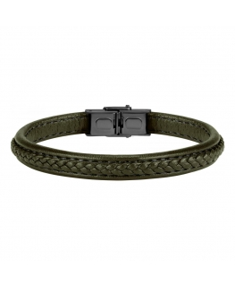 Sector Gioielli Bandy br. military leather black buckle