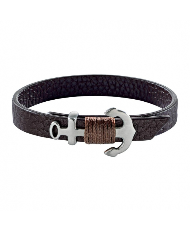 Sector Gioielli Bandy br. brown leather vintage 235mm uomo SZV27 - galleria 1