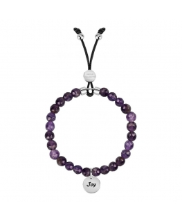 La Petite Story Br. with natural stone amethyst joy